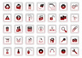 Web icon set Stock Photography