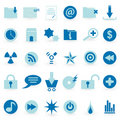 WEB icon and symbol  Vector set Stock Images