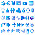 Web icons 02 Royalty Free Stock Image