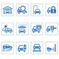 Web icons : Auto service icon Royalty Free Stock Photo