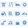Web icons : Auto service icon Stock Images