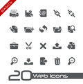 Web Icons // Basics Royalty Free Stock Image