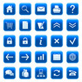 Web icons / buttons Royalty Free Stock Photo