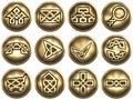 Web Icons. Celtic style