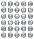 Web icons collection for design Stock Image