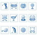 Web icons : Golf II Royalty Free Stock Photo