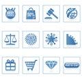 Web icons : Online Shopping 2 Stock Image