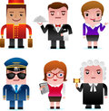Web Icons - Professional People Stock Image