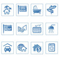 Web icons : Real Estate 1 Royalty Free Stock Photo