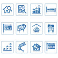 Web icons : Real Estate 2 Royalty Free Stock Photo