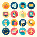 Web icons set buy and sell theme vector illustration Stock Image