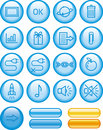 Web Icons Set (Vector) Stock Images
