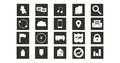 Web icons to use in your project Stock Photography