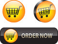Web iconsbuttons for ecommerce Stock Photo