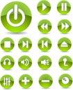 Web-Ikonen Stockbild