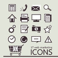 Web marketing icon Royalty Free Stock Image