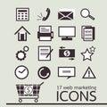 Web marketing icon Royalty Free Stock Image