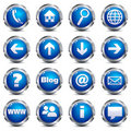 Web Site & Internet Icons - SET ONE Royalty Free Stock Photo