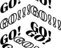 Three-dimensional contour inscription - go.