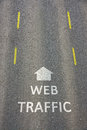 Web Traffic Stock Images