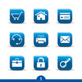 Web universal icons 1..smooth series Royalty Free Stock Photo