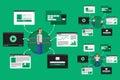 Web Virtual Network