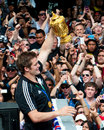 Webb-Ellis Cup Richie McCaw All Blacks Captain Royalty Free Stock Image