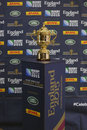 Webb ellis cup the the trophy awarded to the winner of the rugby world the premier competition in men s international rugby Royalty Free Stock Image