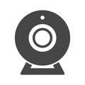 Webcam sign icon