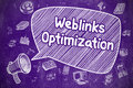Weblinks Optimization - Business Concept.