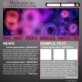 Website abstract design template Stock Photography