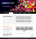 Website colors template Stock Photo