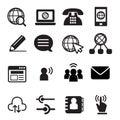 Website communication icon