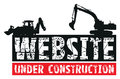 Website construction Stock Photo