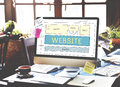 Website Homepage Responsive Design Ideas Concept Royalty Free Stock Photo