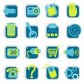 Webové stránky ikony