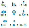 Website icons set Royalty Free Stock Photo