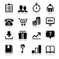 Website internet icons set -  Stock Photos