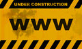 Websites under construction Stock Images