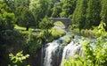 Webster's Falls in Hamilton. Ontario, Canada. Royalty Free Stock Photo