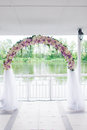 Wedding arch floral see my other works in portfolio Stock Images