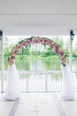 Wedding arch floral see my other works in portfolio Royalty Free Stock Images