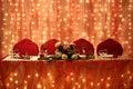 Wedding arrangement Royalty Free Stock Photo