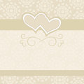 Wedding backdrop for wedding invitations Stock Image