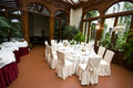 Wedding ballroom Royalty Free Stock Photo