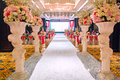 Wedding banquet hall the deluxe Royalty Free Stock Photography
