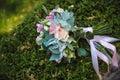 Wedding Bouquet On Background ...