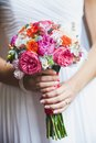 Wedding bouquet close up of Stock Image