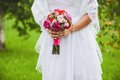 Wedding bouquet close up of Royalty Free Stock Photography