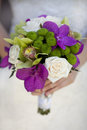 Wedding bouquet closeup Stock Photography